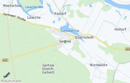 Stadtplan Gartow