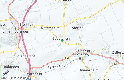 Stadtplan Gauersheim