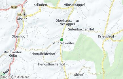 Stadtplan Gaugrehweiler