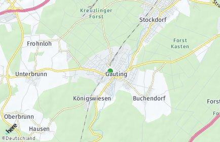Stadtplan Gauting