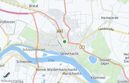 Stadtplan Geesthacht