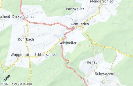 Stadtplan Gehlweiler