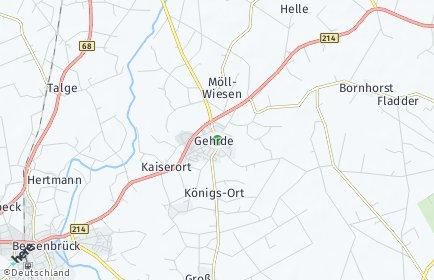Stadtplan Gehrde