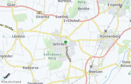 Stadtplan Gehrden