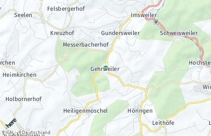Stadtplan Gehrweiler