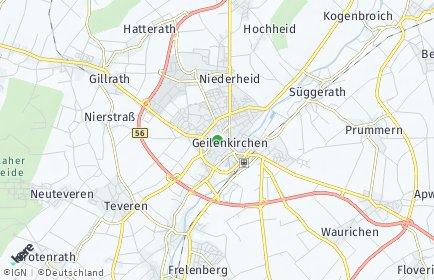 Stadtplan Geilenkirchen