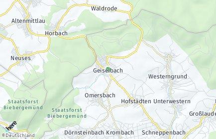 Stadtplan Geiselbach