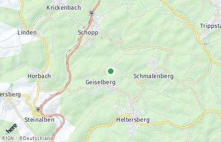 Stadtplan Geiselberg