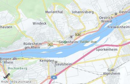 Stadtplan Geisenheim