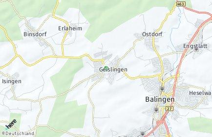 Stadtplan Geislingen (Zollernalbkreis)