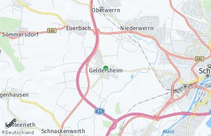Stadtplan Geldersheim