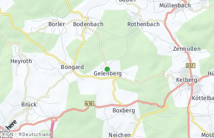 Stadtplan Gelenberg