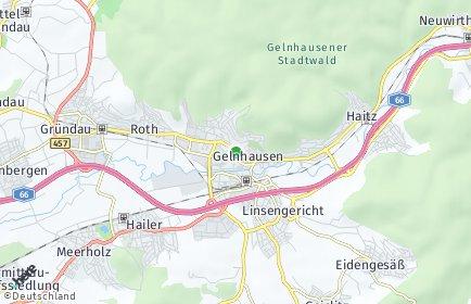 Stadtplan Gelnhausen