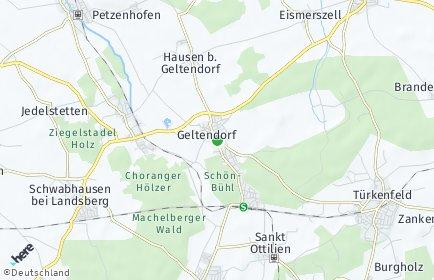 Stadtplan Geltendorf
