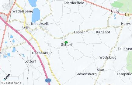 Stadtplan Geltorf