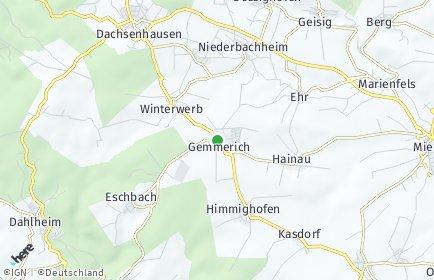 Stadtplan Gemmerich
