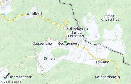 Stadtplan Georgenberg