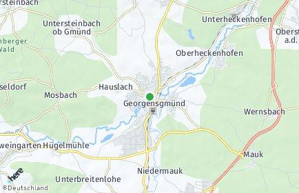 Stadtplan Georgensgmünd