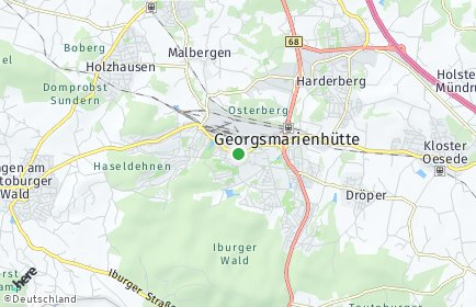 Stadtplan Georgsmarienhütte