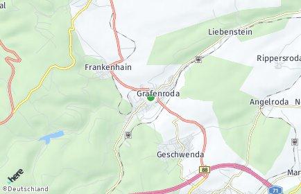 Stadtplan Geratal