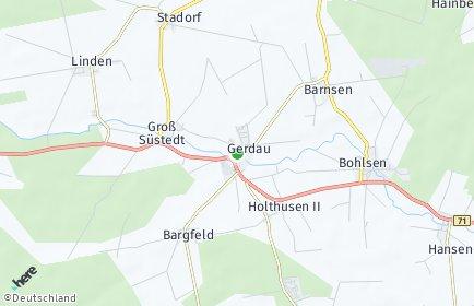 Stadtplan Gerdau