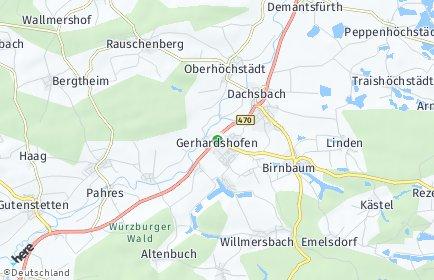 Stadtplan Gerhardshofen