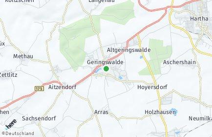 Stadtplan Geringswalde