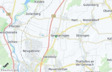 Stadtplan Germaringen