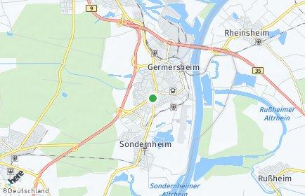 Stadtplan Germersheim