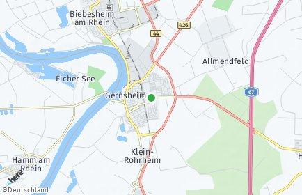 Stadtplan Gernsheim