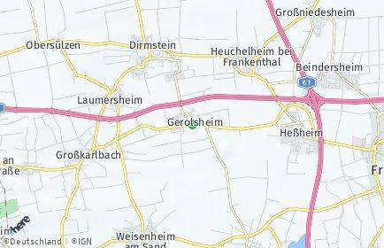 Stadtplan Gerolsheim
