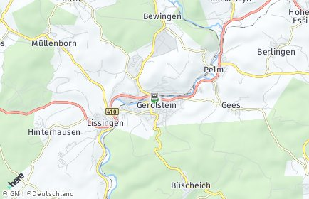 Stadtplan Gerolstein