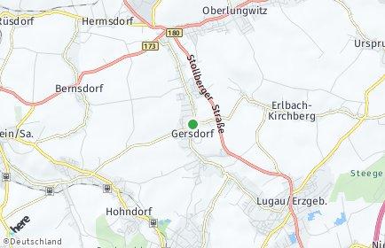 Stadtplan Gersdorf