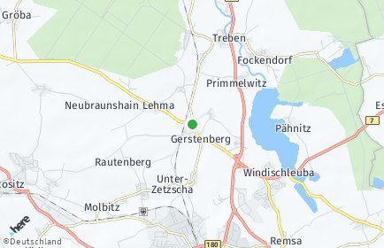 Stadtplan Gerstenberg