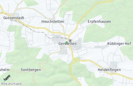 Stadtplan Gerstetten