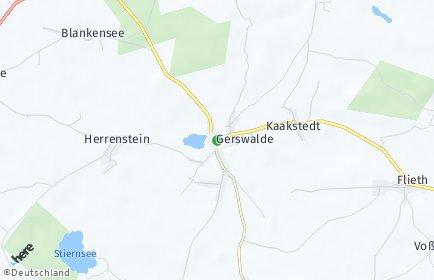 Stadtplan Gerswalde