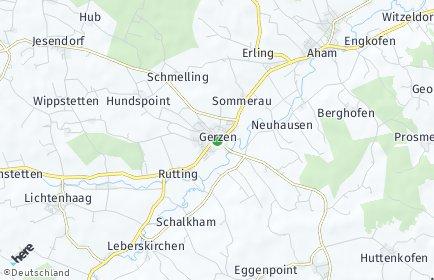 Stadtplan Gerzen