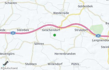 Stadtplan Geschendorf