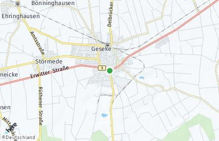 Stadtplan Geseke