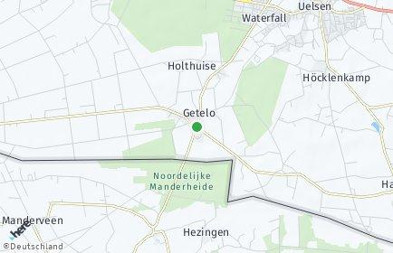 Stadtplan Getelo