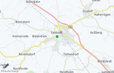 Stadtplan Gettorf