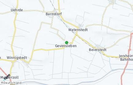 Stadtplan Gevensleben