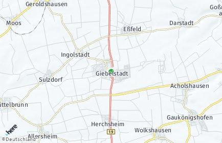 Stadtplan Giebelstadt
