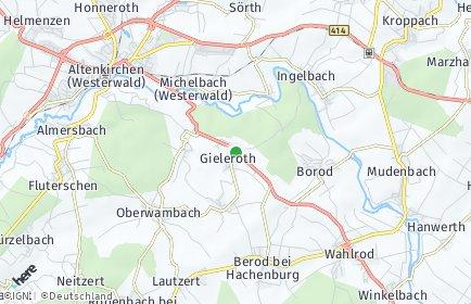 Stadtplan Gieleroth