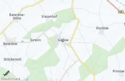 Stadtplan Gielow