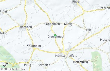 Stadtplan Gierschnach