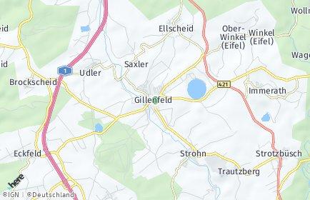 Stadtplan Gillenfeld