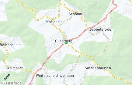 Stadtplan Gilserberg