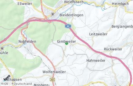 Stadtplan Gimbweiler