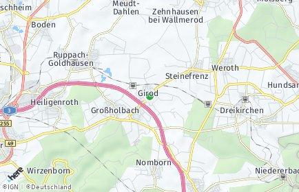 Stadtplan Girod